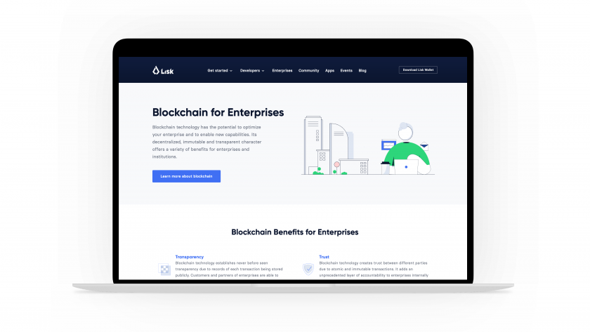 Lisk Blockchain for Enterprises