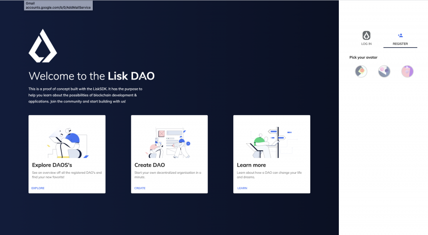 Welcome to the Lisk DAO