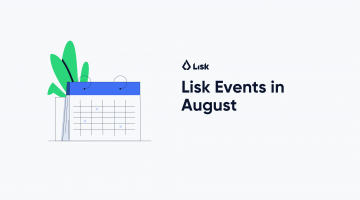 Lisk Events in August 2019