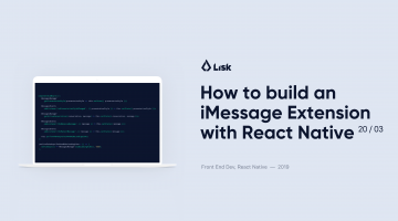 How to Build an iMessage Extension for a React Native Mobile App